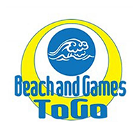 Beach and Games To Go logo
